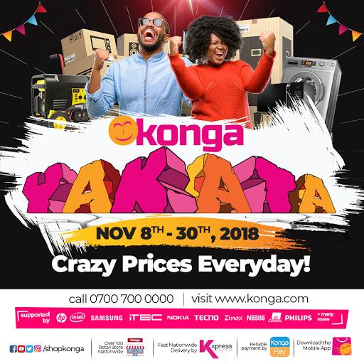 Konga Yakata 2018