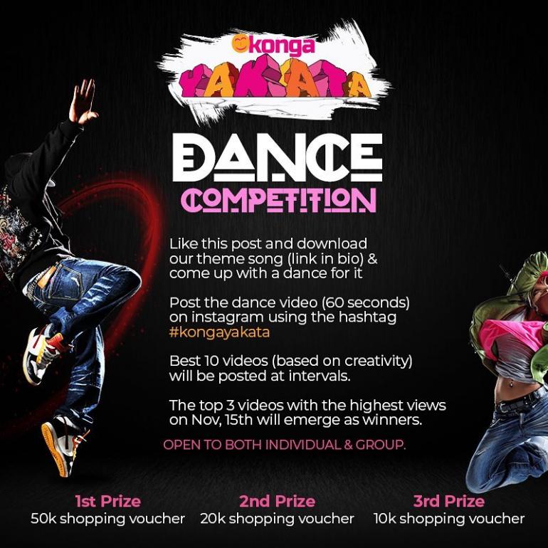 Konga Yakata Dance Challenge