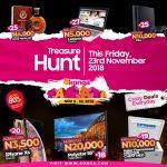 Konga Yakata Treasure Hunt 2018