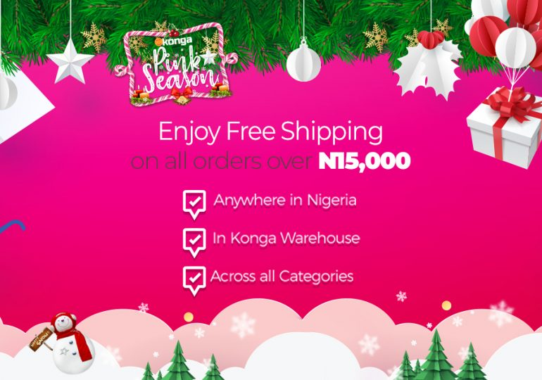 FREE SHIPPING ON KONGA ORDERS