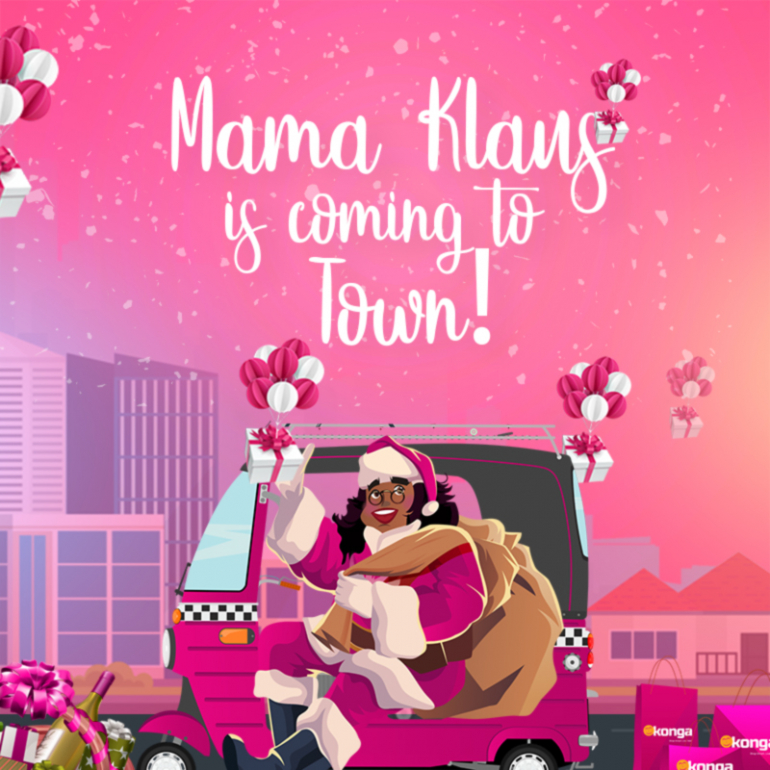 MAMA KLAUS IS COMING TO TOWN