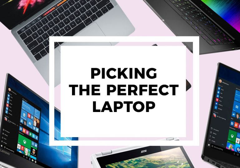 Picking The Perfect Laptop
