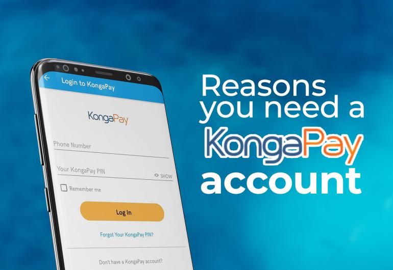 Reasons You Need A KONGA Pay Account
