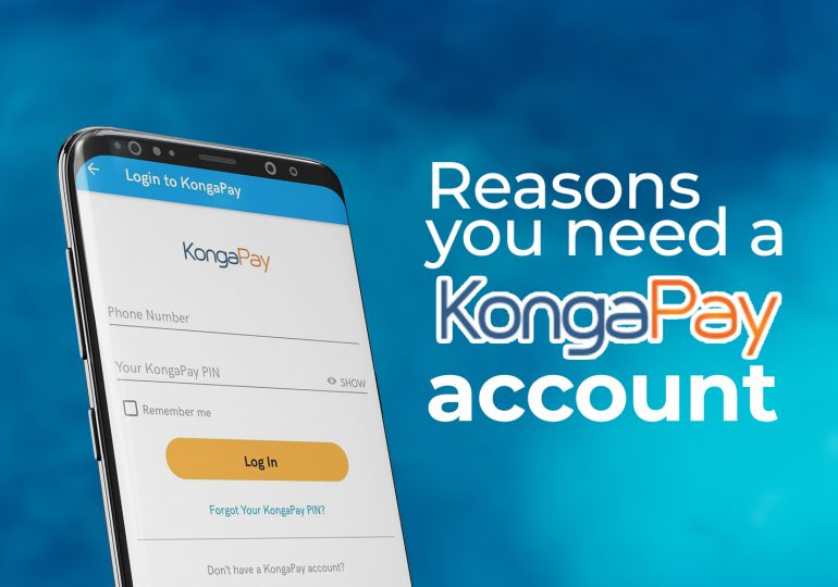 Reasons You Need A KONGA Pay Account