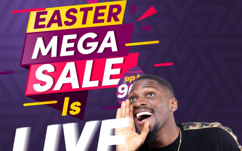 The Konga Easter Mega Sales Is LIVE