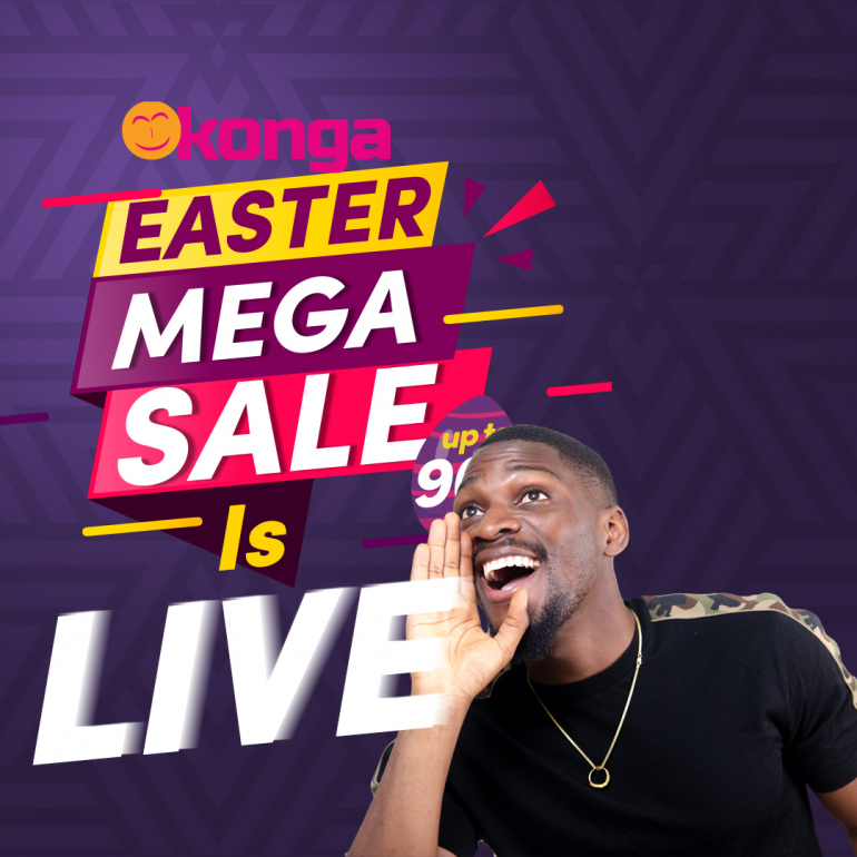 The Konga Easter Mega Sales Is LIVE
