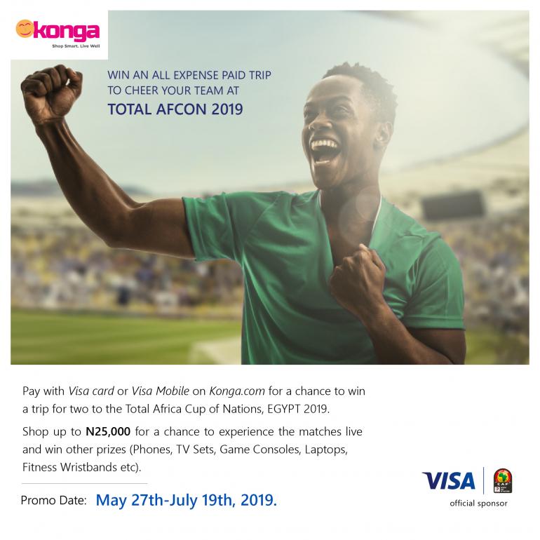 Visa & Konga Unveils Total Afcon!