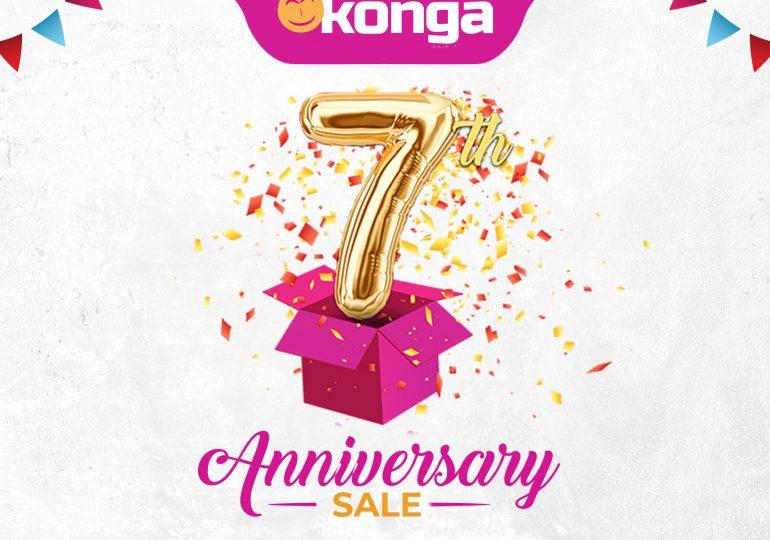 KONGA 7th Anniversary Sale