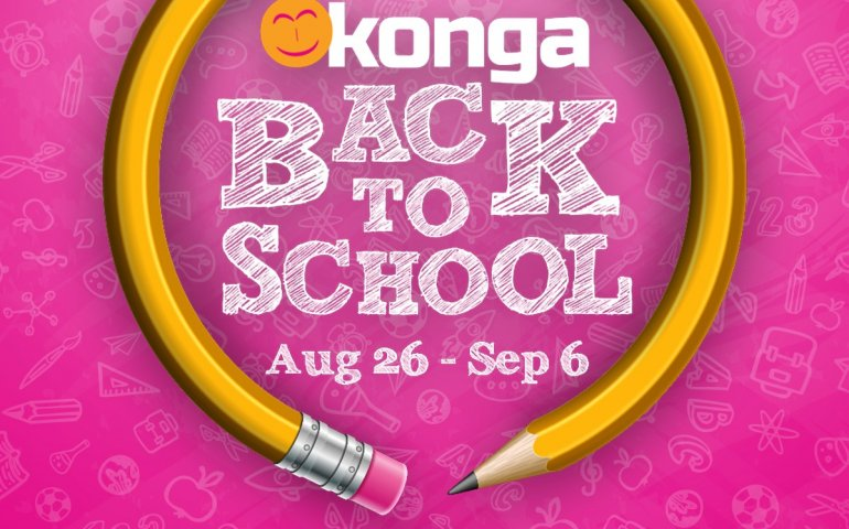 Konga 2019 Back to School Sale is LIVE!