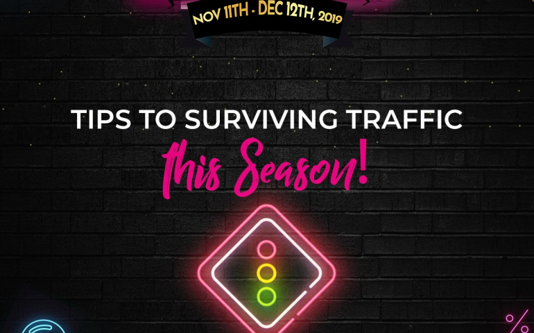 Tips For Surviving Traffic this Season