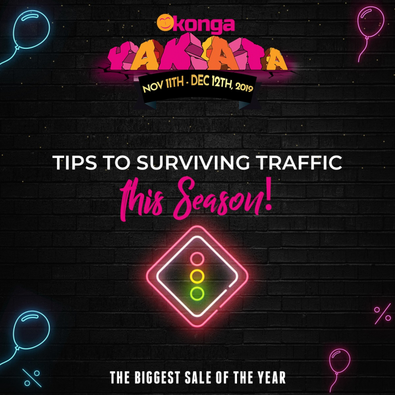 Tips For Surviving Traffic this Season