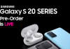 Samsung Galaxy S20 Series Preorder is LIVE