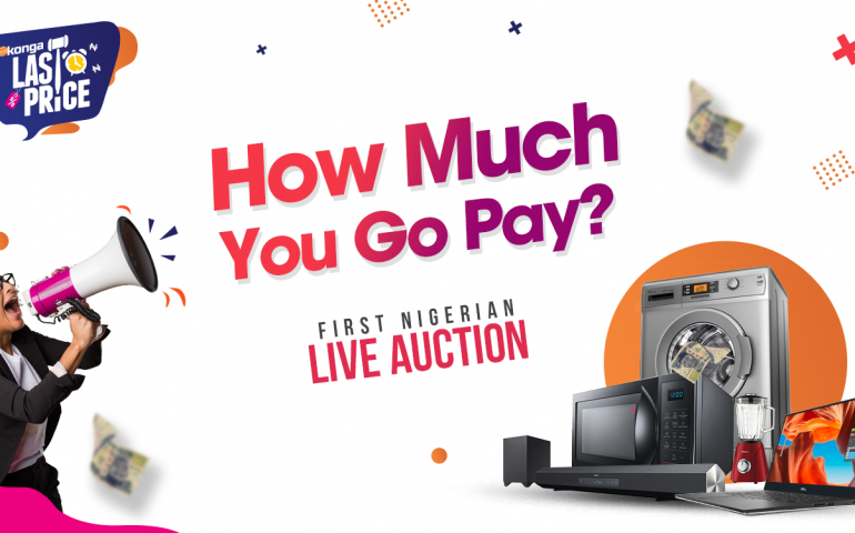 Konga Debuts First Ever Live Auction In Africa – Konga Last Price
