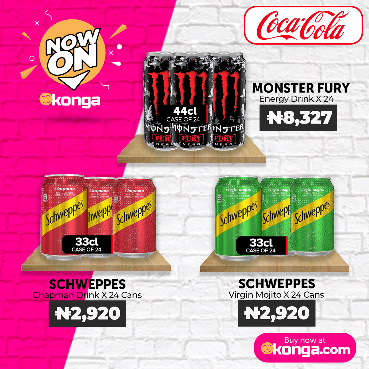 Konga Partners with Coca Cola