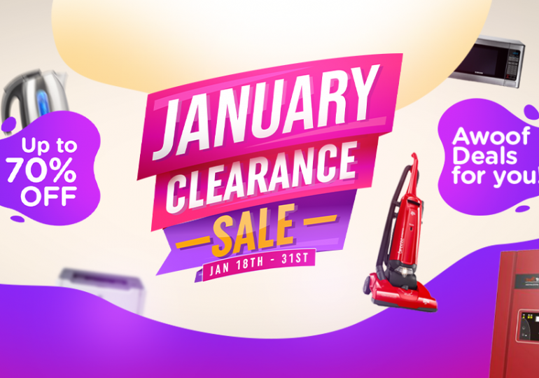 January Clearance Sale: 6 Products To Look Out For