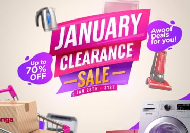 'EVERYTHING MUST GO' – JANUARY CLEARANCE SALE IS HERE