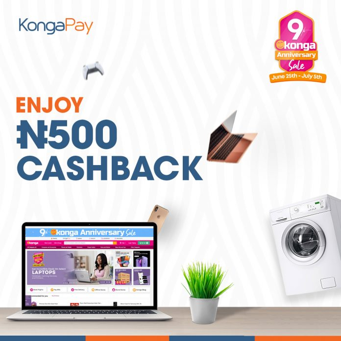Enjoy N500 Cashback