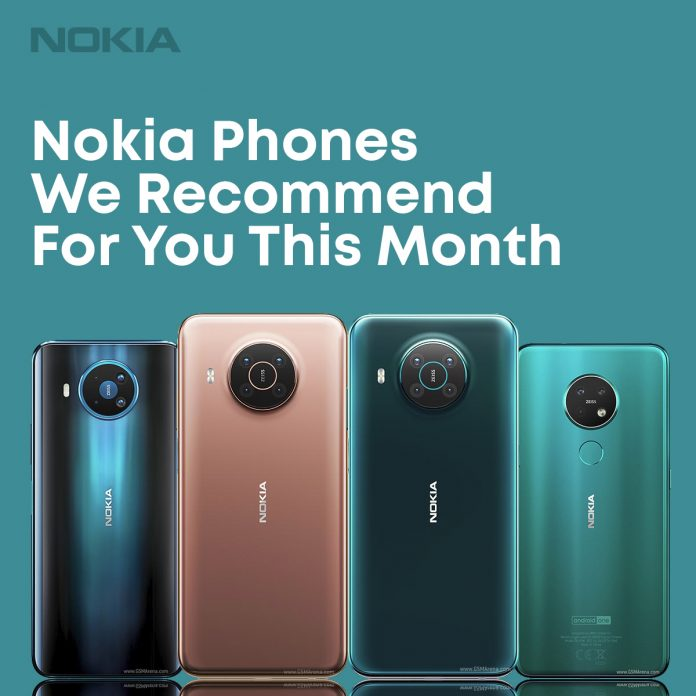 Nokia Phones We Recommend For You This Month